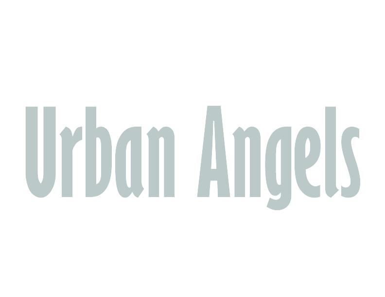 Urbanangelsvectorgrijsfolder