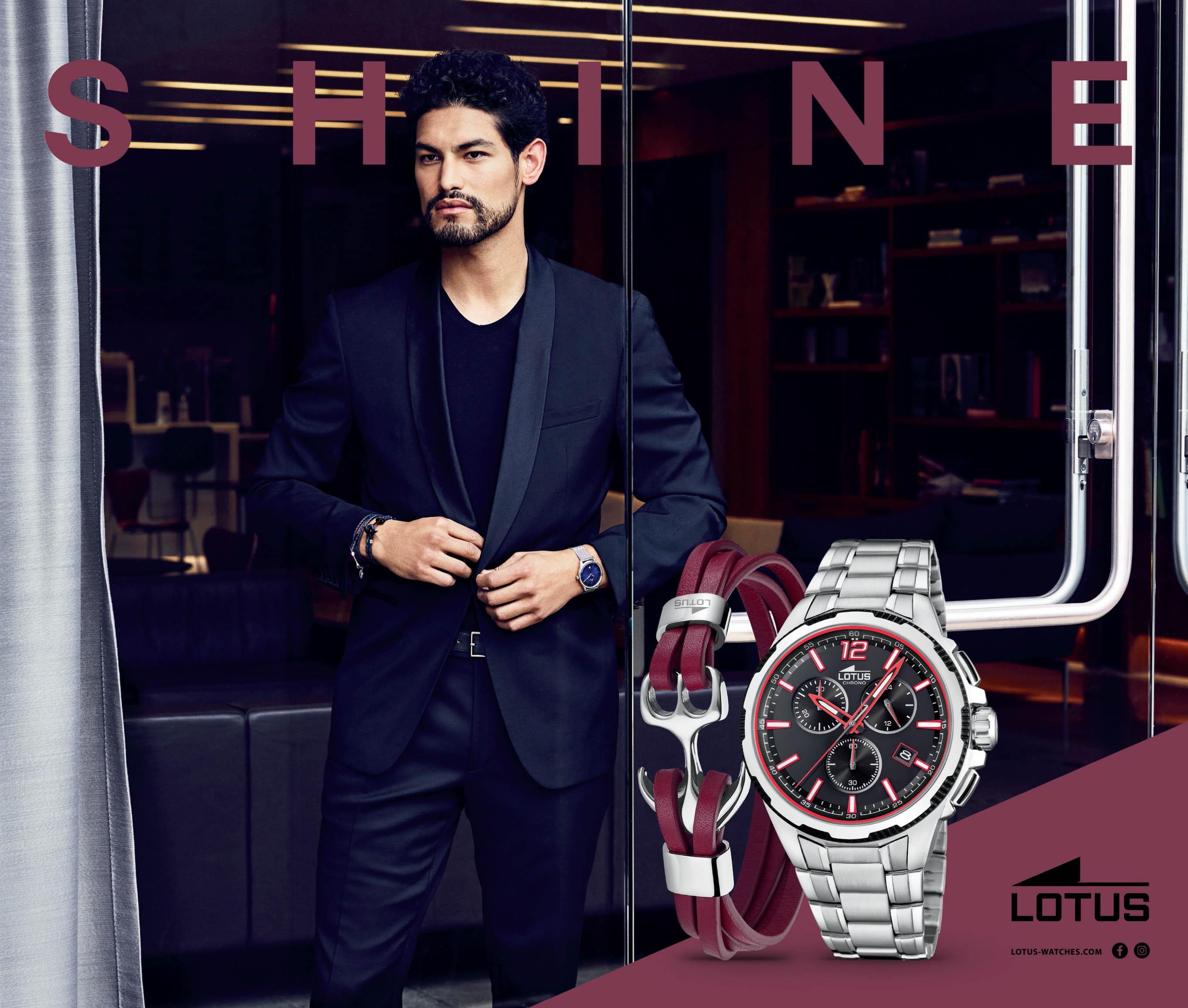 Lotus horloges
