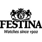 Festina F16886/1 Chronograaf - Polshorloge - Staal - blauw - 44,5mm.
